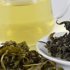 #healthandtea high mountain green tea