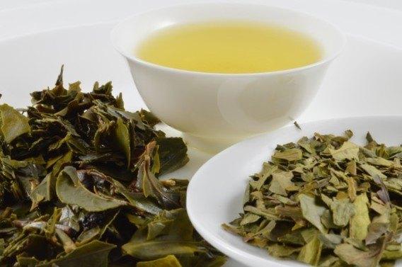 #healthandtea blossom green tea