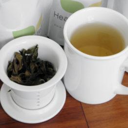 healthandtea porcelainmug with infuser