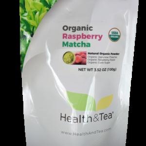 #healthandtea Organic Raspberry Matcha