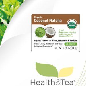 Health&Tea Coconut Matcha
