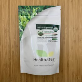 Health&Tea Matcha Superfood Front Bag