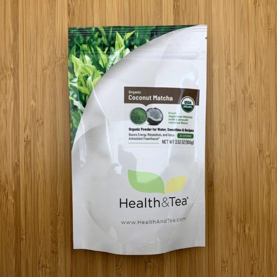 Health&Tea Coconut Matcha Front Bag