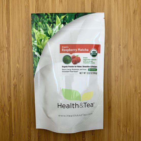 Health&Tea Raspberry Matcha Front Bag