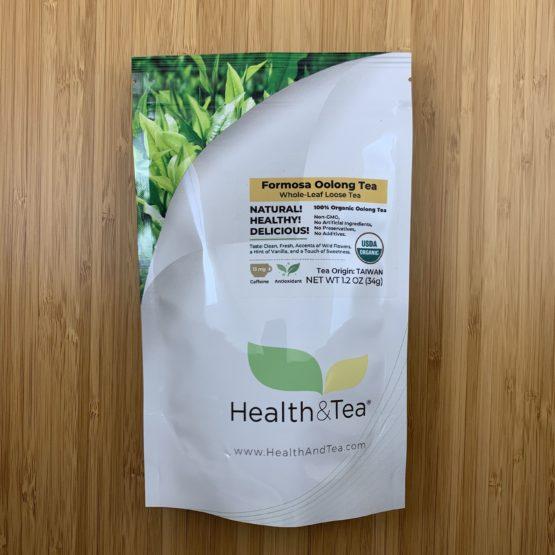 Health&Tea Formosa Oolong Front