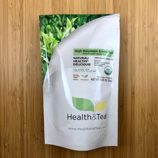 Health&Tea High Mt Green Front