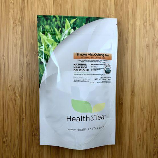 Health&Tea Smoky Mist Oolong Front