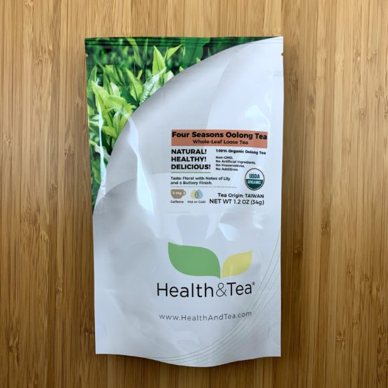 Health&Tea Four Seasons Oolong Front