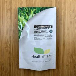Health&Tea Genmaicha Front