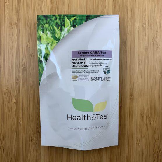 Health&Tea Serene GABA Front