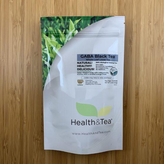 Health&Tea GABA Black Front