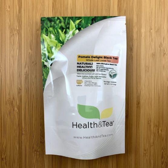 Health&Tea Pomelo Delight Black Front