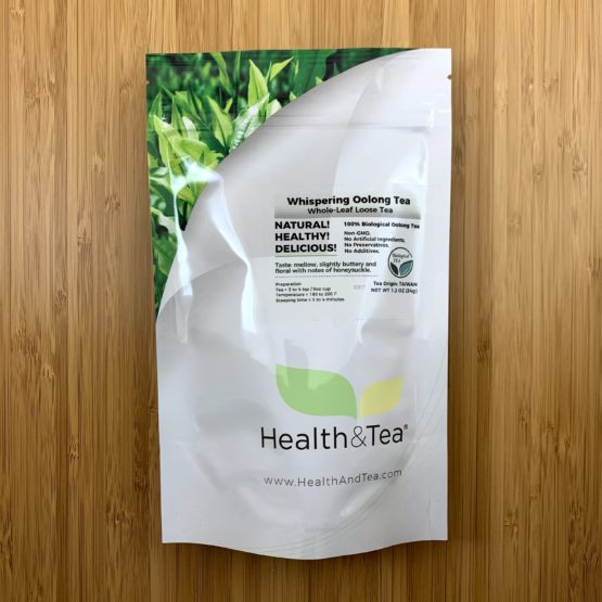 Health&Tea Whispering Oolong Front