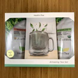 Health&Tea Loose-leaf Tea Gift Set (High Mt. & Honey Black)