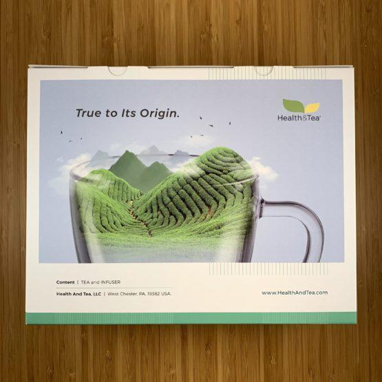 Health&Tea Gift Set Back