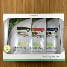 Health&Tea Matcha Gift Set Front 2