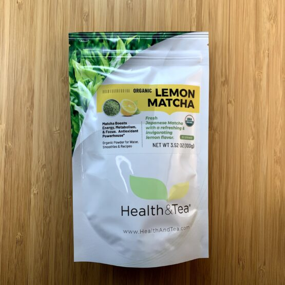Health&TeaLemonMatcha