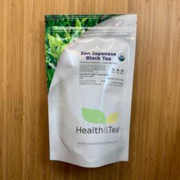 Health&Tea Zen Japanese Black Tea Front