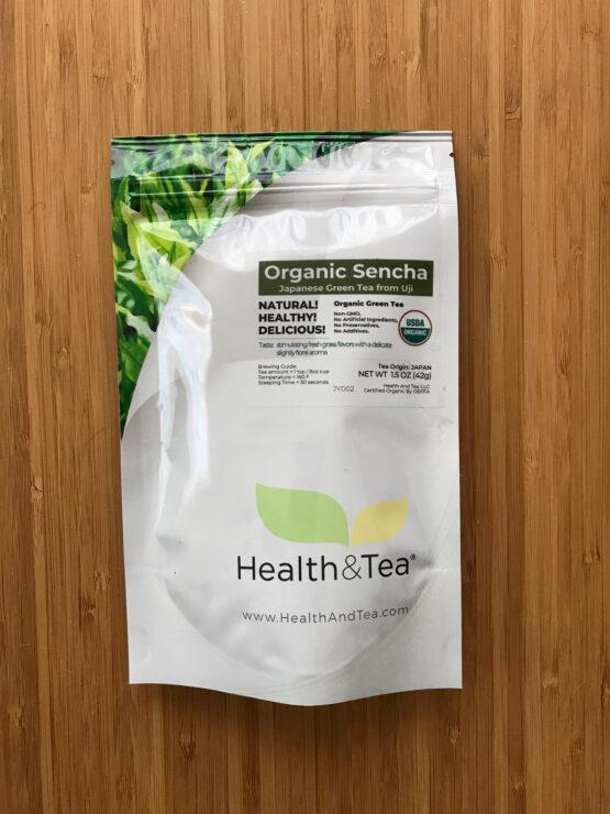Health&Tea Organic Sencha Bag